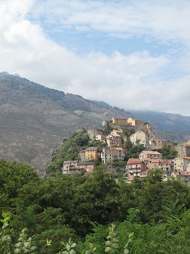 Corte, Corsica, France