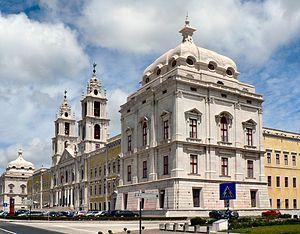 """""""Palácio-Convento Nacional de Mafra"""". Mafra, Portugal."""