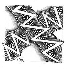 twing | Zentangle Tangle unpublished | illustrated by Studio Grapheme