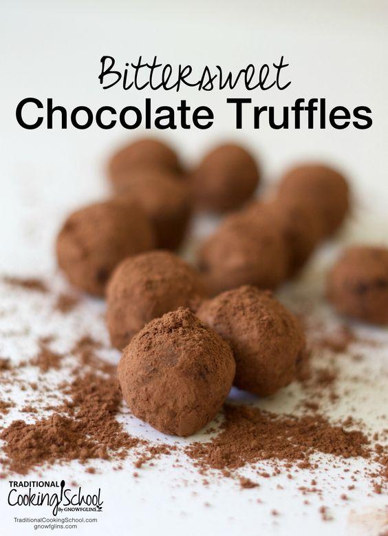 Chocolate truffles, Truffles and Organic chocolate on Pinterest