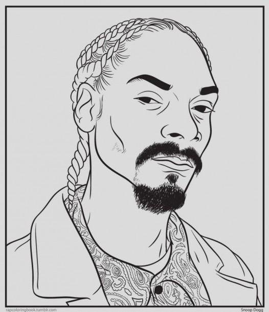Snoop Dogg Coloring Pages Rapper Art Hip Hop Artwork Tupac Art