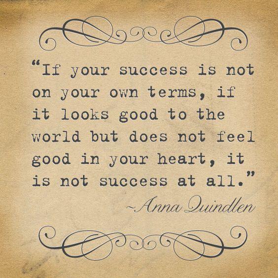 ❥ Authentic Success