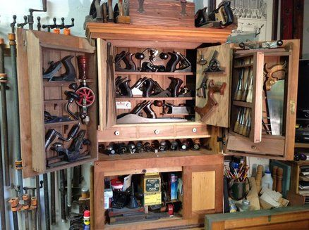 Not-Wall-Hung Tool Cabinet