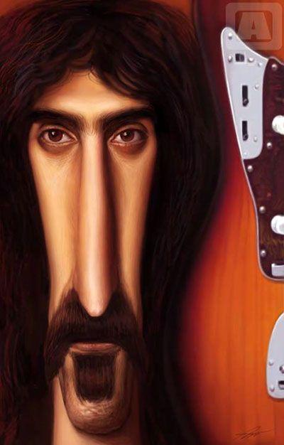 Frank Zappa by Angineer Ang, South Korea