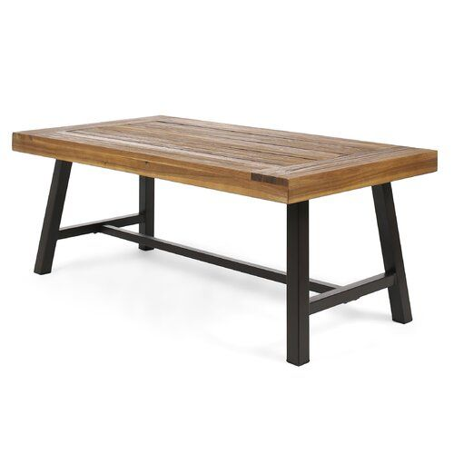 Aditya Solid Wood Coffee Table Solid Wood Coffee Table Outdoor