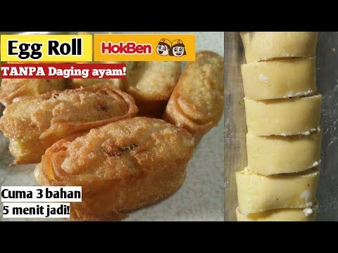 Resep Egg Roll Ala Hokben Saat Kantong Kering Cocok Buat Anak Kos Youtube Di 2020 Telur Gulung Roti Gulung Resep