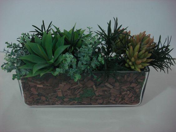 arranjos de plantas em potes - Pesquisa Google