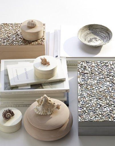 cute simple shell boxes