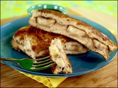 HG's Overstuffed Peanut Butter 'n Banana French Toast