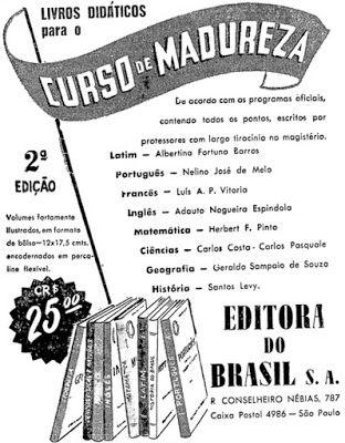 ANOS DOURADOS: IMAGENS & FATOS: IMAGENS = ANÚNCIO 1951