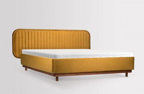 Lozko Delikate 160x200 Welurowe Bed Furniture Furniture Bed