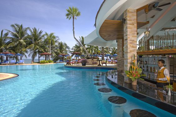 Swim Up Bar! I need to holiday at a place like this!