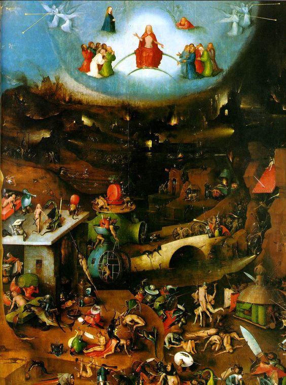 Bosch: The Last Judgement (1505) - Gemaldegalerie der Akademie der Bildenden Kunste, Wien | ↠@ambika95↞
