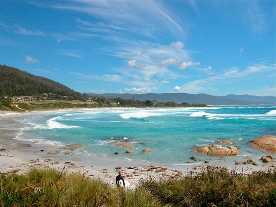 Redbill Beach Bichneo Tasmania - prints and downloads available