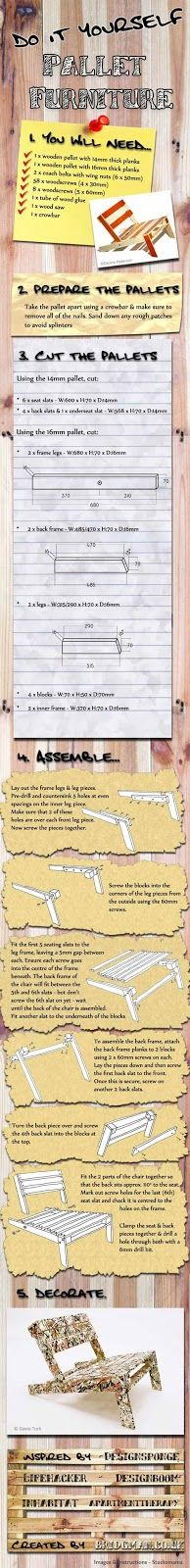 Decoreba Design: DIY - Maneiras de reaproveitar pallets