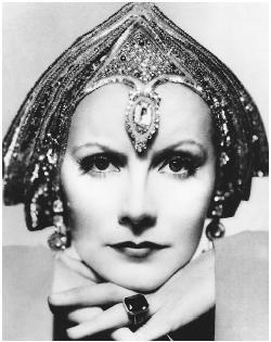 El post de los actores y actrices de cine clásico  Greta Garbo