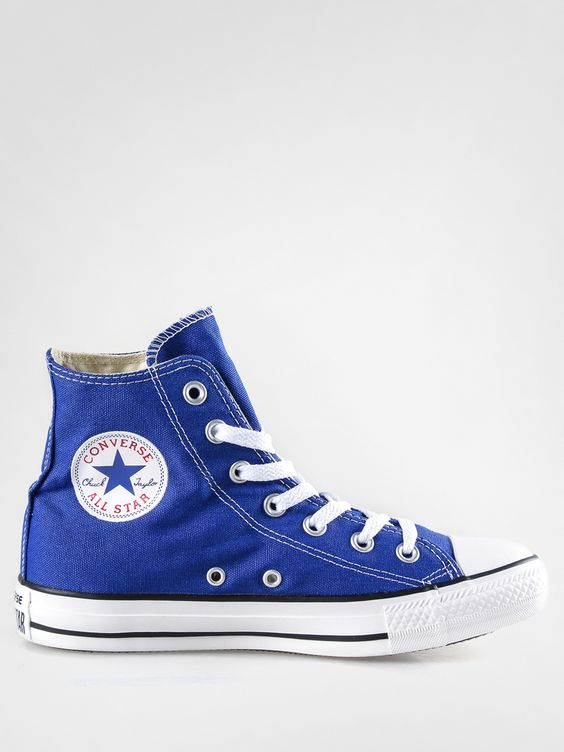 converse blue tips