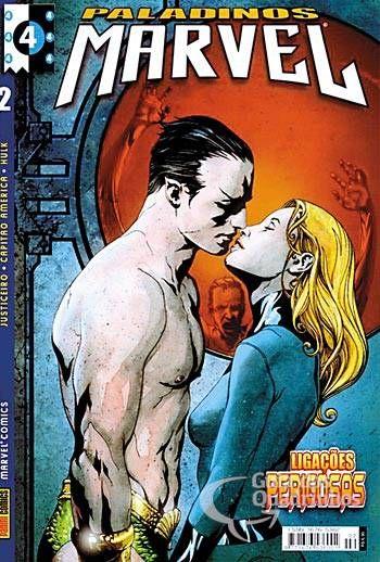Paladinos Marvel n° 2 - Panini
