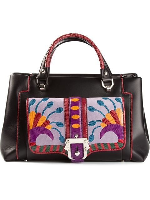 Shop Paula Cademartori 'Petite Lisa' shoulder bag in Davinci from the world's best independent boutiques at farfetch.com. Over 1000 designers from 60 boutiques in one website.