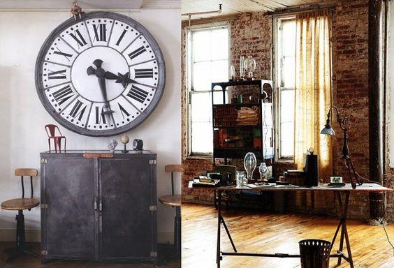 Janocca na oca: ♥ decoração Industrial