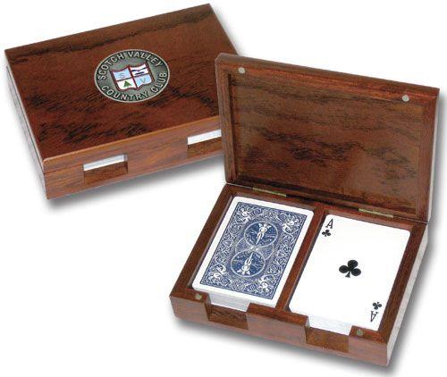 Playing Card Box Playing Card Box Wooden Card Box Diy Card Box