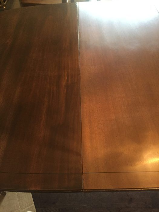 How To Refinish A Dining Table Without Stripping Sanding