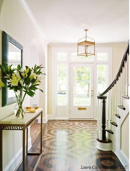 Foyer Front Door : Floors interiors and foyers on pinterest