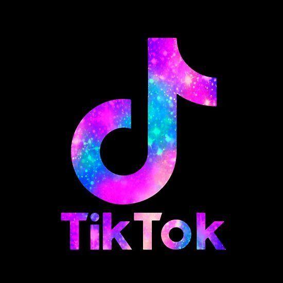 Tiktok Logo Wallpaper Iphone Neon Cute Galaxy Wallpaper Iphone Wallpaper