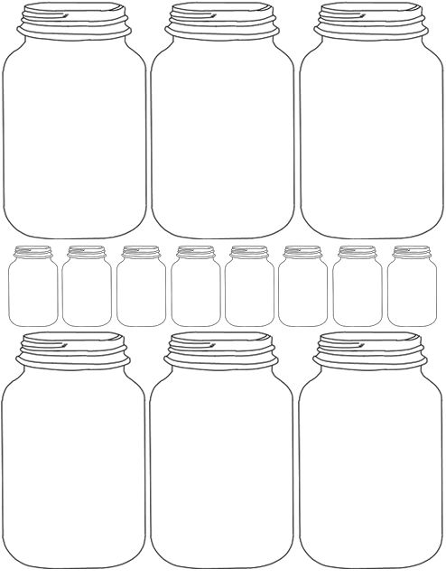 diy impression pour pots mason ou le parfait tiquettes cadeaux tiquettes pinterest. Black Bedroom Furniture Sets. Home Design Ideas