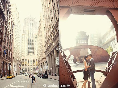 chicago-engagement-photo-07 by caroline tran, via Flickr