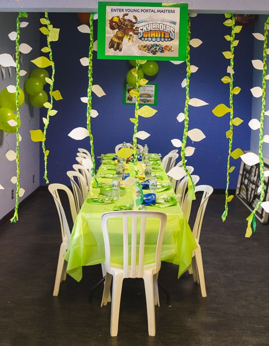skylander birthday party ideas | specially requested Skylanders-themed birthday party by the newly ...