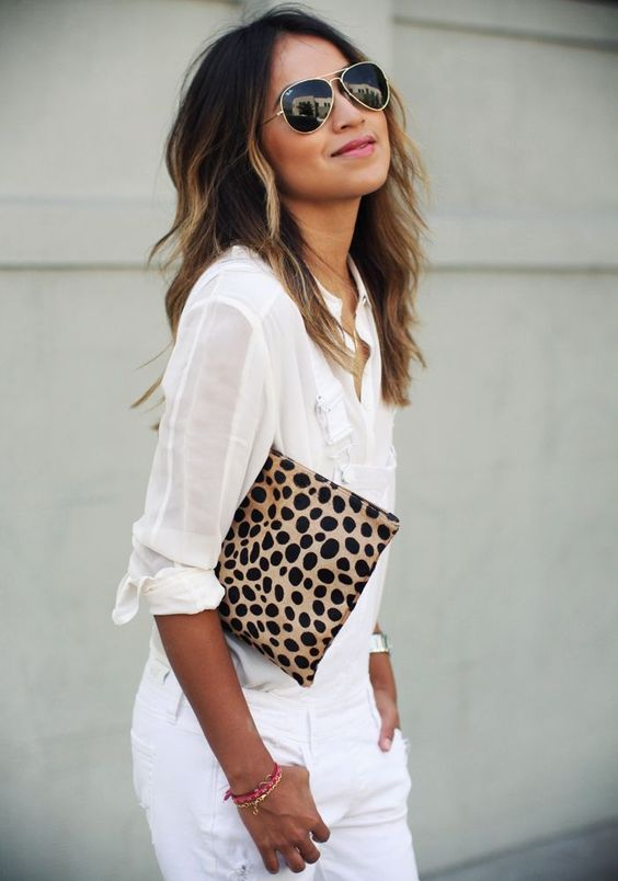 Leopard + white - Sincerely Jules