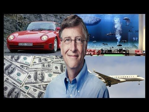 Bill Gates Lifestyle Houses Jets Cars Family Net Worth 2018 Bill Gates Net Worth Life