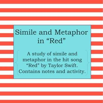 simile and metaphor in taylor swifts song quotred