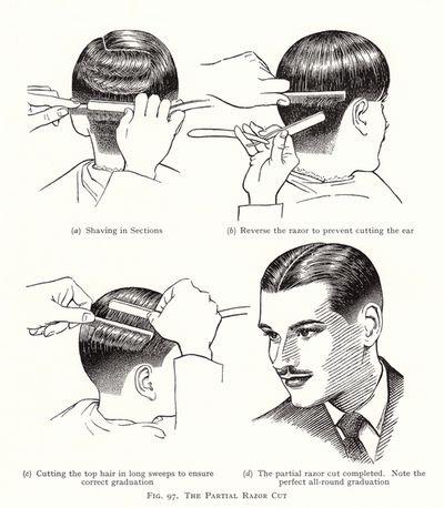 mens hair #vintage