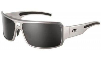 oculos de sol masculino quadrado HB prata