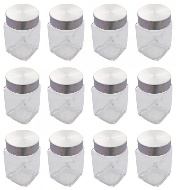 vorratsglas vorratsbehälter bonbonglas 12 stück mit ... - Vorratsbehälter Küche