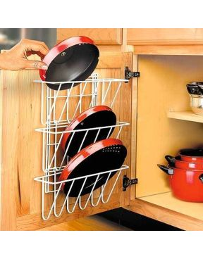 With a pot lid organizer