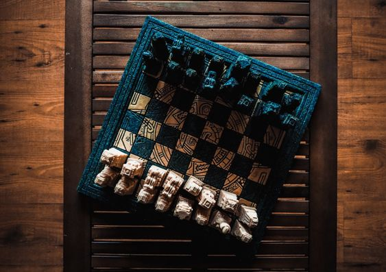 Black and Beige Chessboard Set · Free Stock Photo
