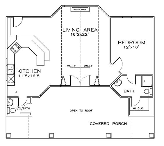 Coastal Cottage Craftsman House Plan 57864 House Plans