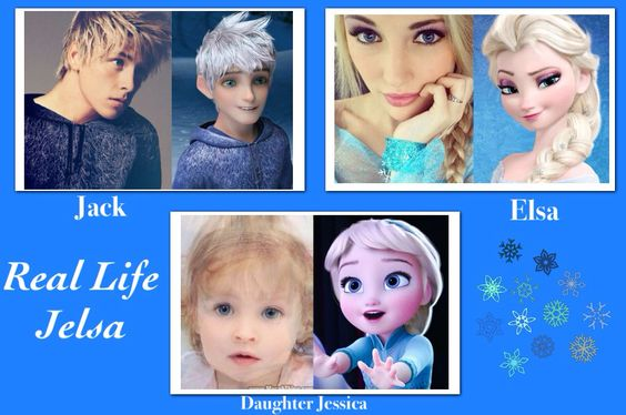 The Frost Family in Real Life. OMG this is so cute!!!