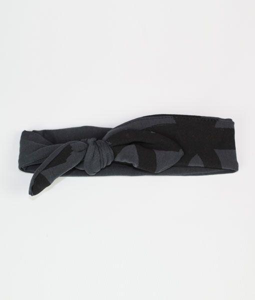 Charcoal Rebel Headband by Oovy.com.au