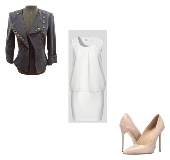 """something different"" by reaper18 ❤ liked on Polyvore featuring Larok and Massimo Matteo"
