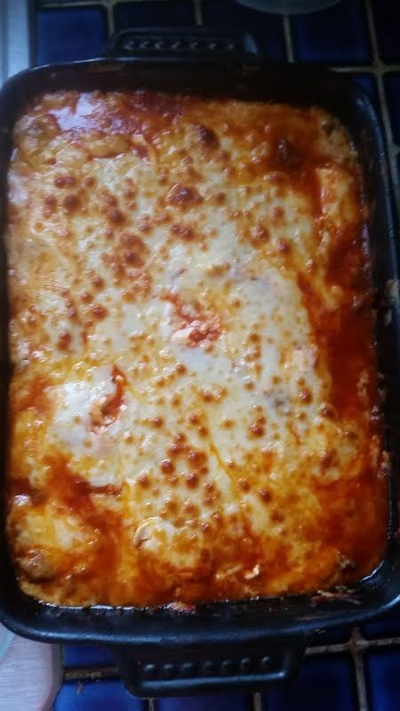 Italian Chicken Bake (LOW CARB)