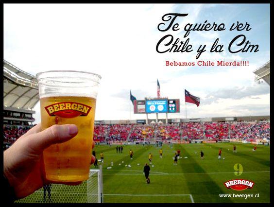 Acompañando a la roja en todas...Vamos Chile!!!