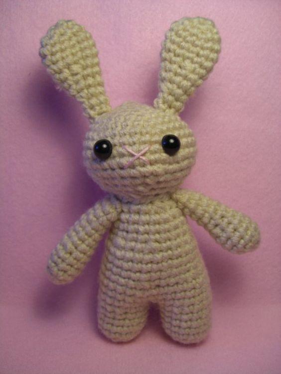 Etsy Amigurumi Patrones : Bunny Amigurumi Crochet Amigurami Pinterest Patrones ...