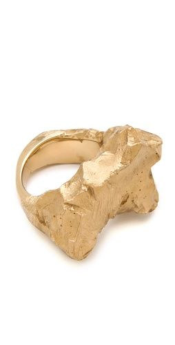 Maison Martin Margiela Solitaire Rock Ring