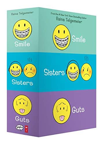 Smile Sisters And Guts The Box Set Paperback November 05 2019 In 2020 Christmas Coloring Books Boxset Free Reading