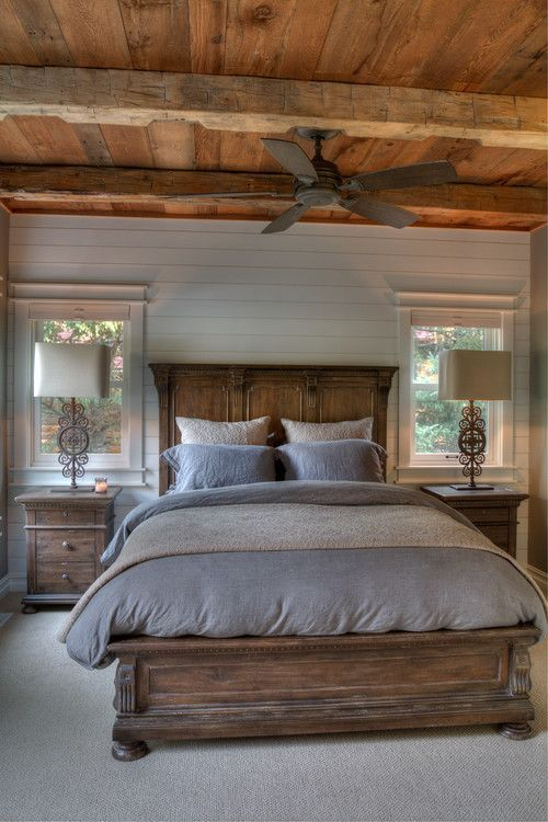 Rustic Bedroom Mobilier De Chambre Idee Chambre Meuble Chambre