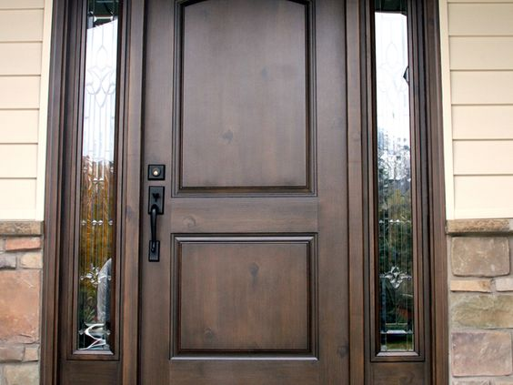 Pinterest the world s catalog of ideas for Faux wood front doors